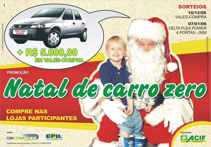 Natal de Carro Zero