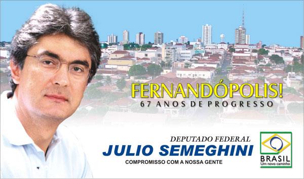 Deputado Julio Semeghini